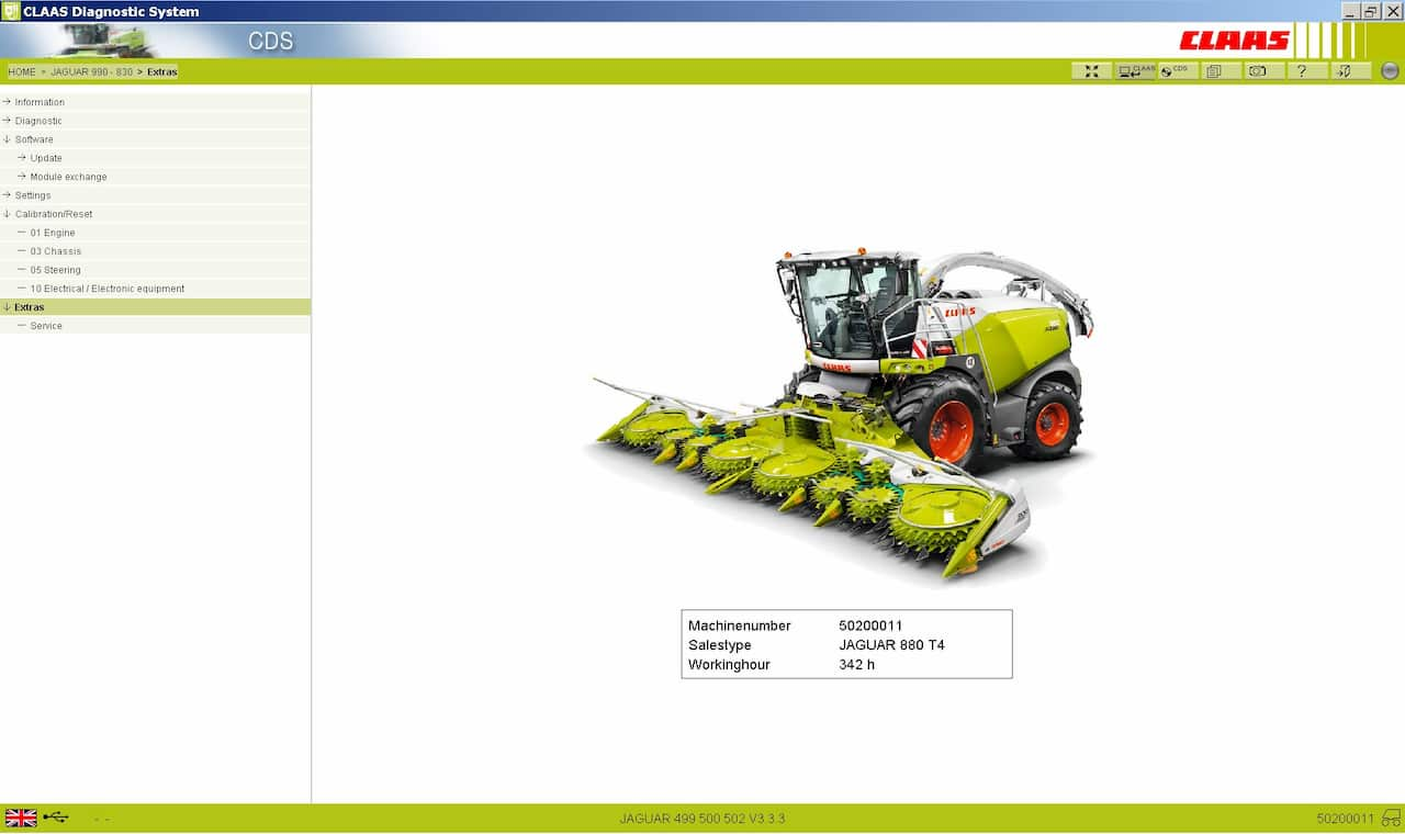 Claas CDS 7.5 Diagnostic System