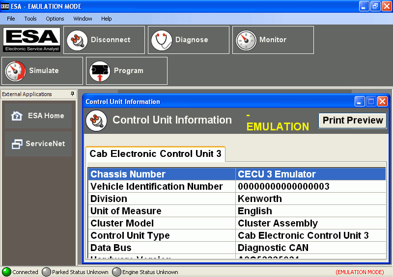 Paccar ESA  5.1.18271.2  + Flash Files +KG