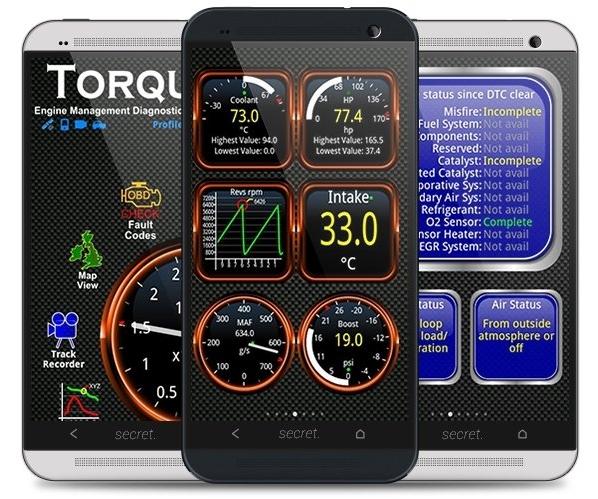 E obd2 facile -car diagnostics screenshots