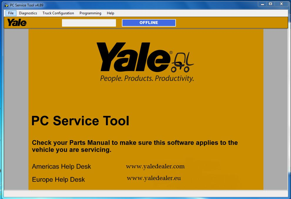 Yale PC Service Tool v4.89 with Development license
