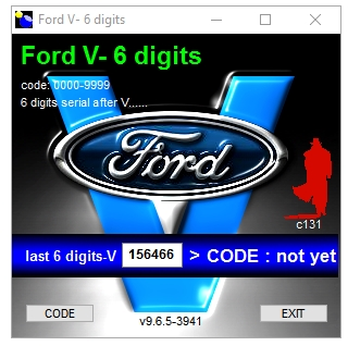 Calculator FORD V Series v.9.6.5