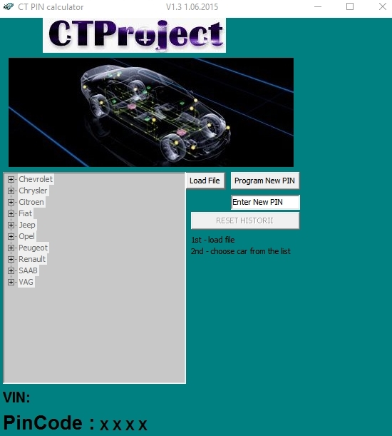 CT PIN V1.3 calculator