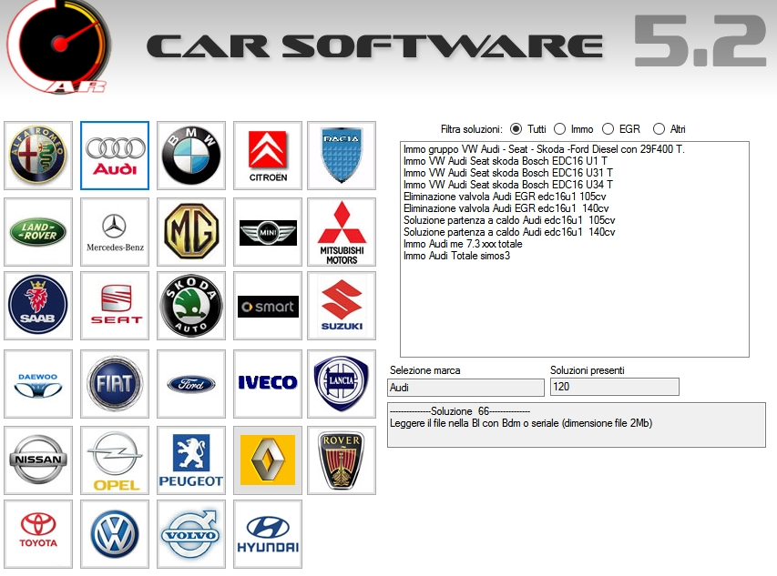 Car Software 5.2
