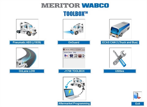 WABCO TOOLBOX 12.3.1 + Patch