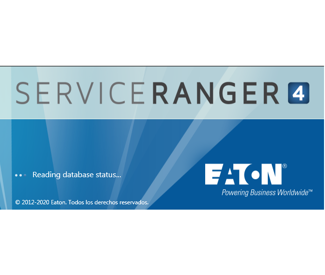 EATON SERVICERANGER 4.8 Enginering