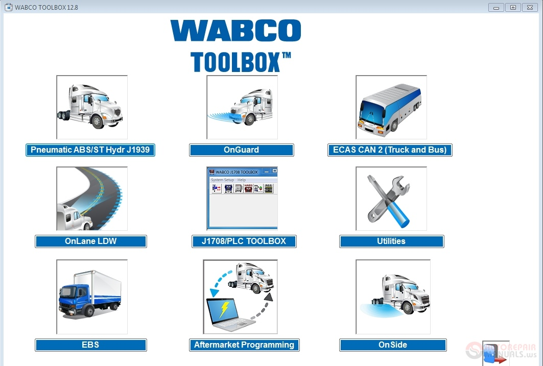 Meritor WABCO TOOLBOX 12.8 English [01.2019]