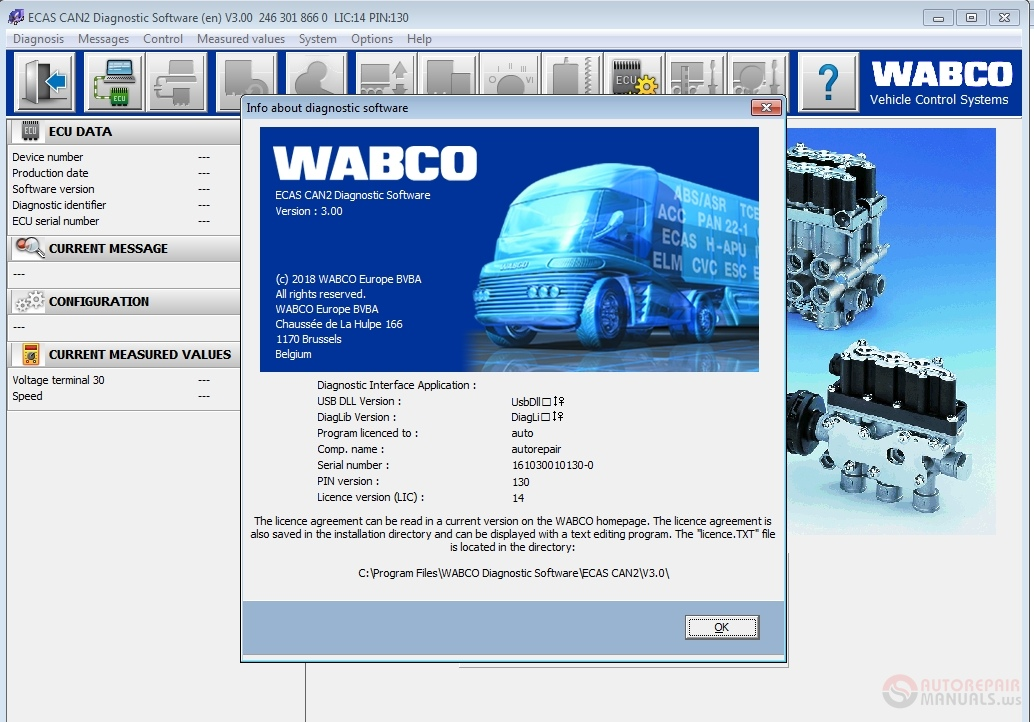 meritor wabco software