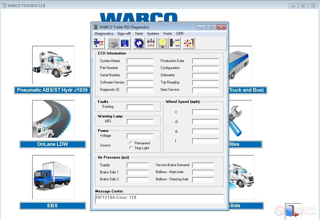 Meritor WABCO TOOLBOX 12 8 English [01 2019], CarSoftDiag
