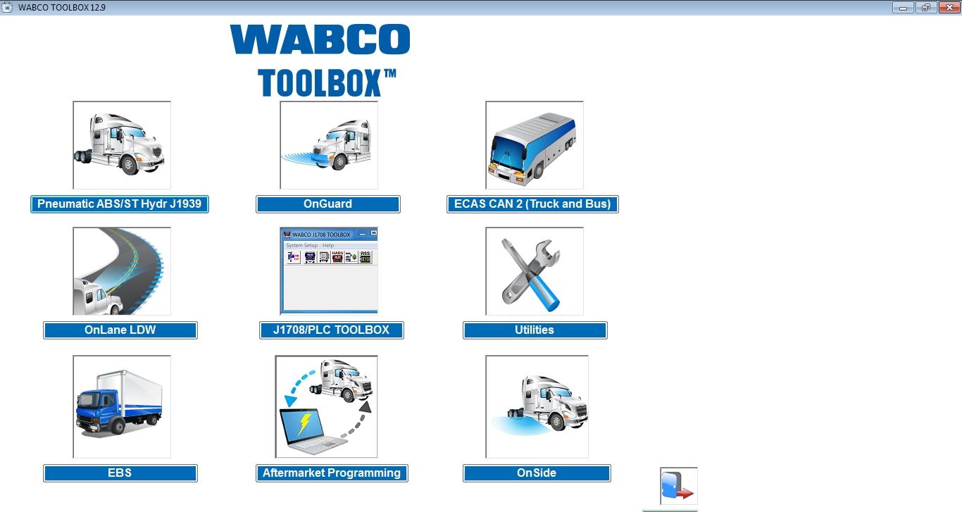 Meritor WABCO TOOLBOX 12 9 189, CarSoftDiag
