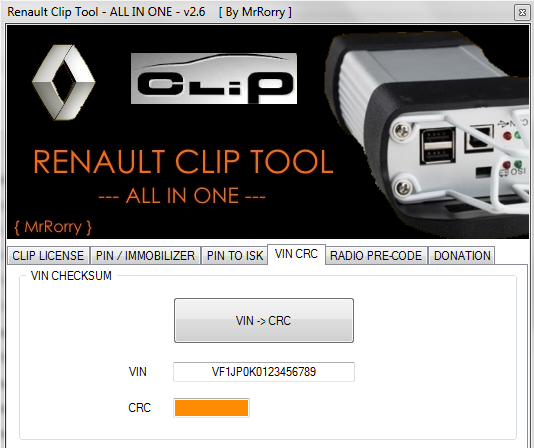 Renault Clip Tool 2.6