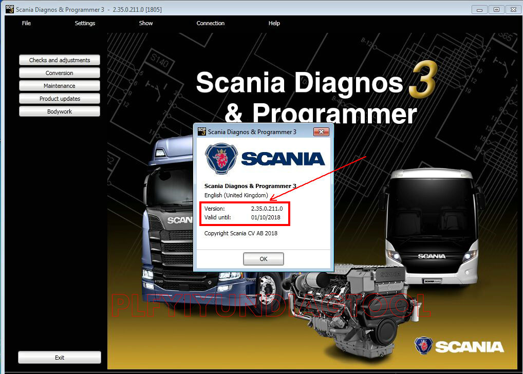 Scania SDP3  2.35 +activation
