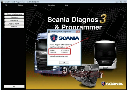 Scania SDP3 2.35.0 [05.2018] + crack
