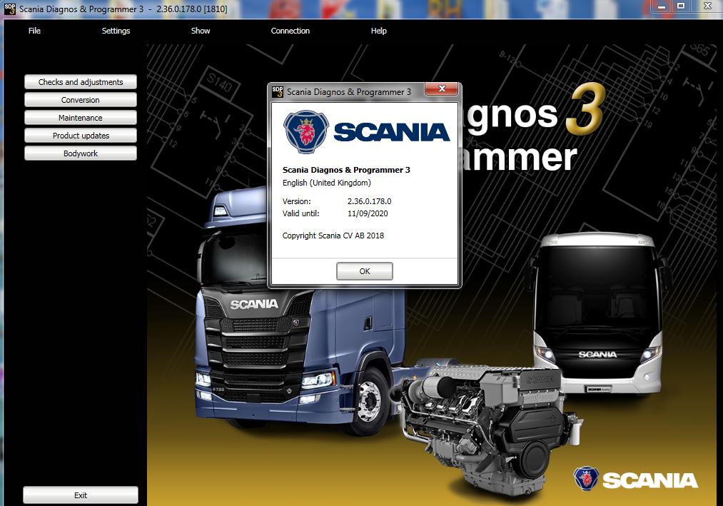 Scania sdp3 2.36 + Patch