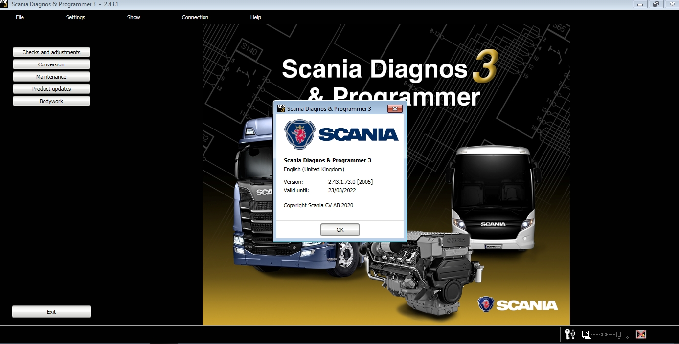 Scania SDP3 v2.43.+ Patch