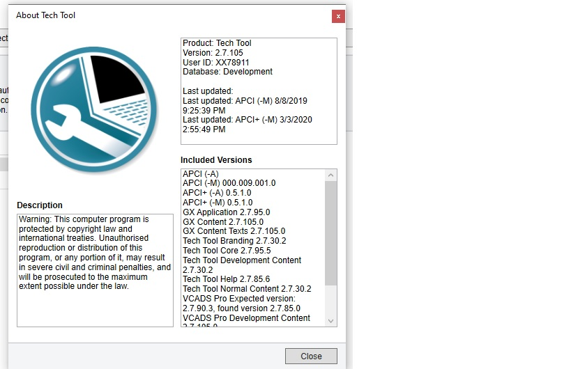 VOLVO TECHTOOL 2.7.105 + devtool + KG +Instruction