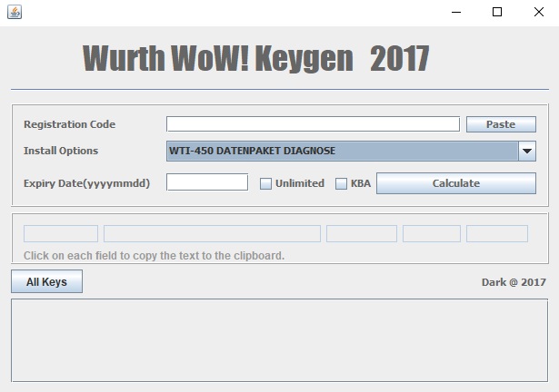 Wurth WOW 2017 Keygen