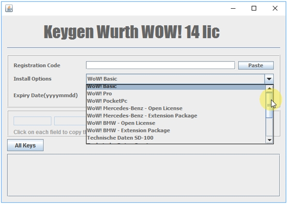 Wurth WoW! Keygen v1-14 Lic