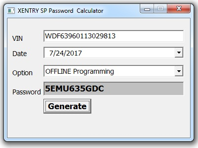 Xentry Offline and Special Functions Programming Keygen