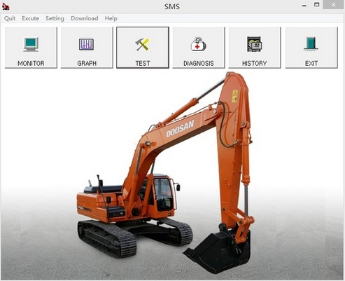 Doosan/Daewoo SMS diagnostic software