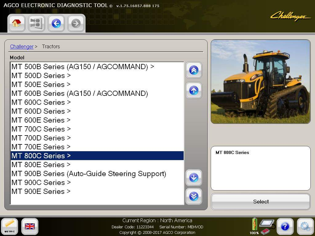 AGCO EDT (Electronic Diagnostic Tool) v1 75 +ACTIVATION, CarSoftDiag