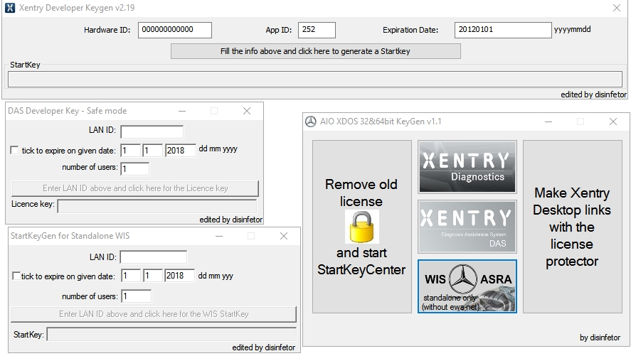 Xentry Das starkeycenter Keygen new